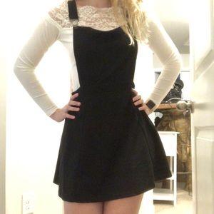 Overall skirt dress (read description!)